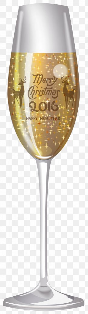 2016 Champagne Glass Clipart Image - White Wine Champagne Glass Wine Glass PNG