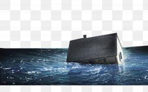 Flood Damaged House Scene - Flood Natural Disaster Tixcom Prevencixf3n PNG