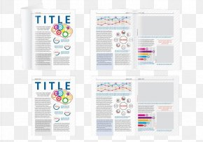 Science Magazine Layout - Magazine Page Layout Book PNG