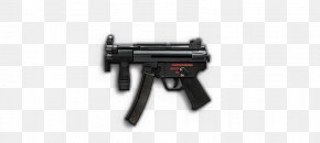 Mp - Trigger Heckler & Koch MP5K Airsoft Firearm PNG