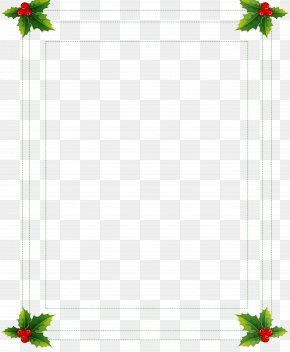 Holly Picture Frame - Picture Frame PNG