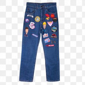 Jeans - Jeans Denim Boyfriend Fashion Pants PNG