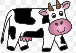 Cow Eating Cliparts - Jersey Cattle Ayrshire Cattle Guernsey Cattle Clip Art PNG