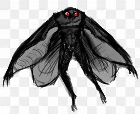 Moth Man Transparent Image - Point Pleasant Mothman PNG