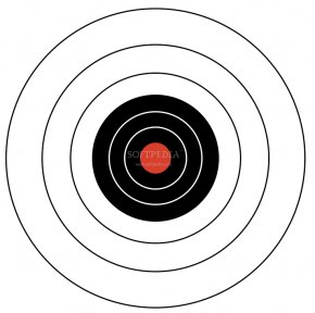 Pictures Of Targets - Circle Spiral Point Target Archery Pattern PNG