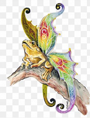 Butterfly - Butterfly Fairy Frog Legendary Creature PNG