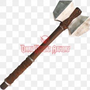 Hammer - Splitting Maul Hand Tool Sledgehammer PNG