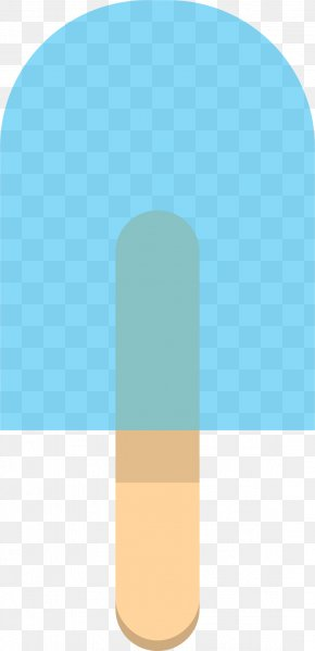 Popsicle - Teal Turquoise Rectangle PNG