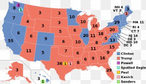 United States - US Presidential Election 2016 United States Presidential Election, 1964 The Electoral College PNG