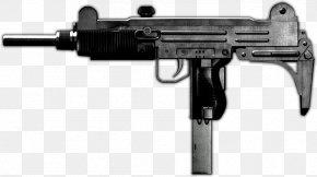 Machine Gun - Uzi Airsoft Guns Firearm AK-47 Tokyo Marui PNG