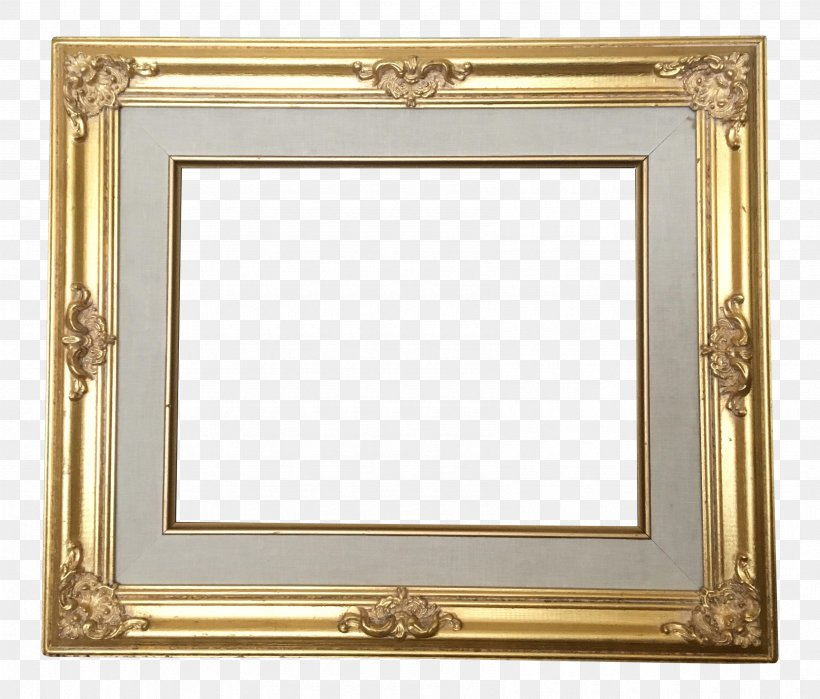 Picture Frames Table Baroque Gold Png