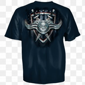 T-shirt European And American Tattoo - T-shirt Sturm, Ruger & Co. Clothing Sleeve PNG