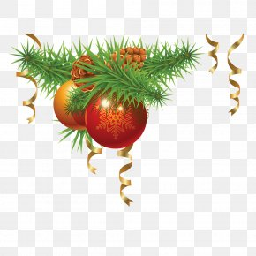 Hanging Christmas Decoration Items - Santa Claus Christmas Decoration Christmas Tree Clip Art PNG