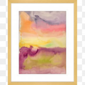 Painting - Watercolor Painting Picture Frames Acrylic Paint PNG