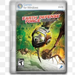 Earth Defense Force Insect Armageddon - Technology Xbox 360 Pc Game Video Game Software PNG