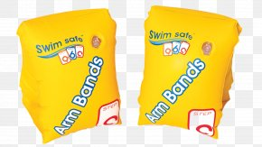 Swimming - Inflatable Armbands Swim Ring Swimming Pool Child PNG