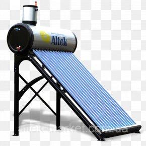 Street Market - Solar Thermal Collector Гелиосистема Altek-Юг Hot Water Dispenser Storage Water Heater PNG