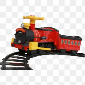 Toy-train - Train Rail Transport Steam Locomotive Track PNG