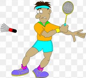 Play Badminton - Badminton Animation Sport Clip Art PNG
