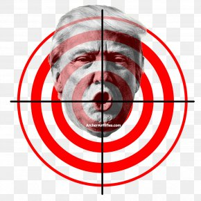 Target - Donald Trump White House Republican Party President Of The United States Democratic Party PNG