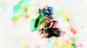 League Of Legends - League Of Legends Riven Arcade Game Desktop Wallpaper Video Game PNG