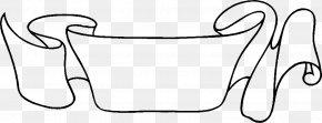 Ribbon - Drawing Web Banner Ribbon Clip Art PNG