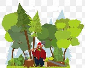 Tree - Arborist Direct Glasgow Tree Lumberjack PNG