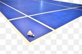Blue Badminton Court - Badminton Download PNG