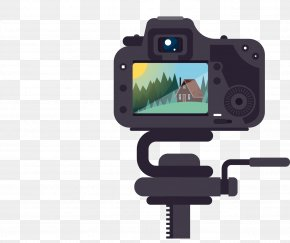 SLR Camera - Photography Download PNG
