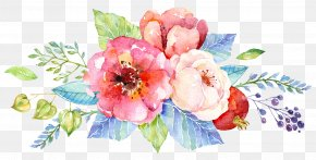 Watercolor Cake - Wedding Invitation Flower Watercolor Painting Floral Design Clip Art PNG