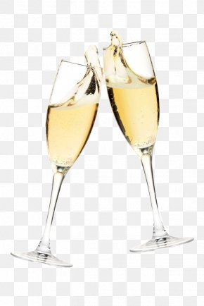 Champagne - Champagne Glass Sparkling Wine Stock Photography PNG