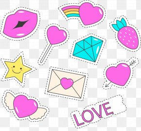 Romance Stickers - Love Romance Clip Art PNG