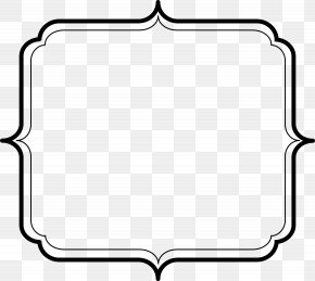 Admin Cliparts - Borders And Frames Decorative Borders Picture Frame Clip Art PNG
