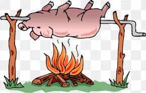 Pig - Pig Roast Barbecue Roasting Suckling Pig PNG