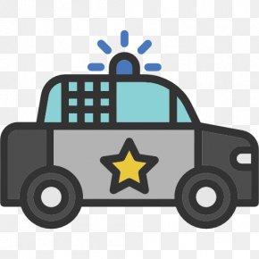 Police Car - Police Car Icon PNG