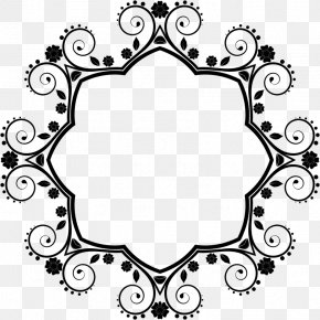 Clip Art Borders And Frames Flower Image Design PNG
