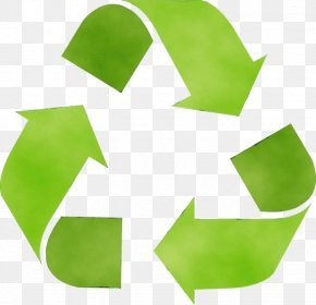 Recycling Logo - Green Symbol Leaf Logo Recycling PNG