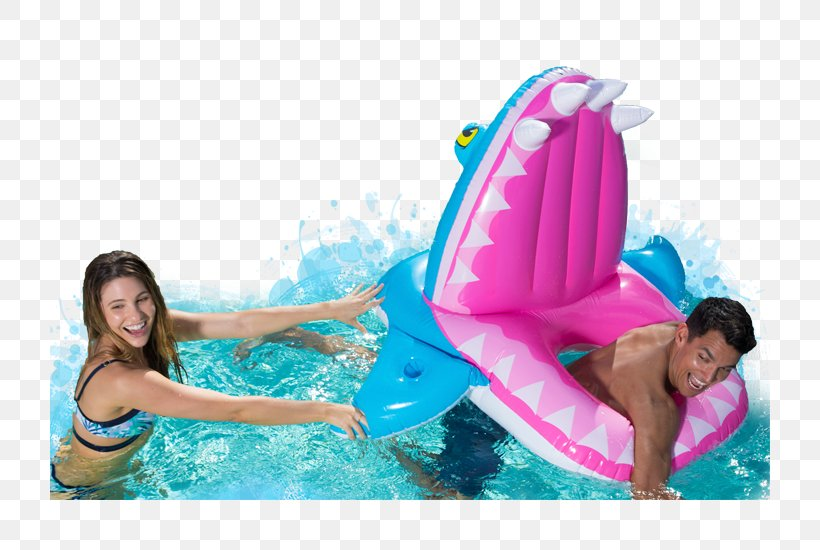 SwimWays Spring Float Swimming Pools SwimWays Eaten Alive ...