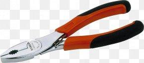 Pliers - Diagonal Pliers Tool Lineman's Pliers Bahco PNG