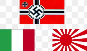 Flag - Second World War Empire Of Japan Axis Powers Flag Of Japan Rising Sun Flag PNG