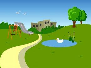Park Cliparts - Amusement Park Clip Art PNG