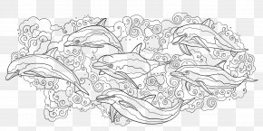Book - Coloring Book Drawing Art Black And White Sketch PNG