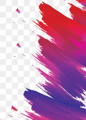 Red Stroke Gradient Creative Poster Template - Poster Download PNG