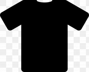 Black T-Shirt Image - Long-sleeved T-shirt Long-sleeved T-shirt Polo Shirt PNG