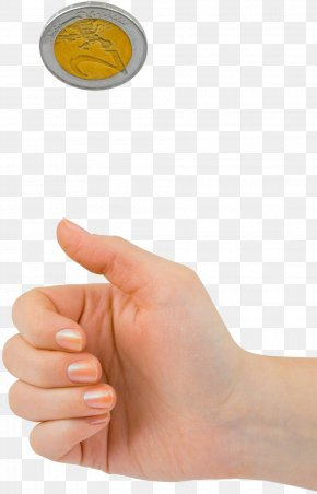 Hands And Coins - Finger Thumb Hand Rheumatoid Arthritis PNG