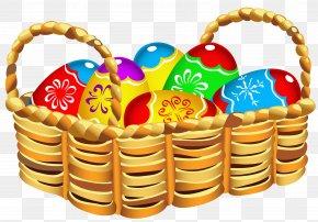Easter Basket Pics - Easter Bunny Easter Basket Easter Egg Clip Art PNG