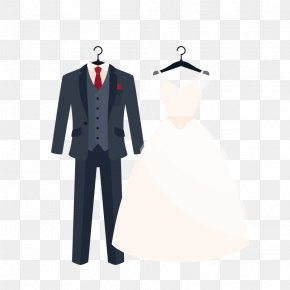 Vector Wedding Dress - Suit Wedding Dress Clothing Formal Wear PNG