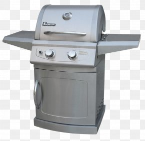 Barbecue - Barbecue Gas Burner Natural Gas Brenner Stainless Steel PNG