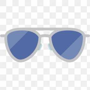 Sunglasses - Goggles Sunglasses Light Blue PNG