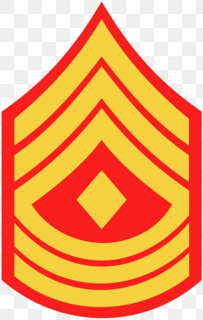 1st Rank 3d Number - United States Marine Corps Rank Insignia Sergeant Major Of The Marine Corps Master Sergeant PNG
